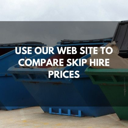 Skip Hire Prices Table Of Contents