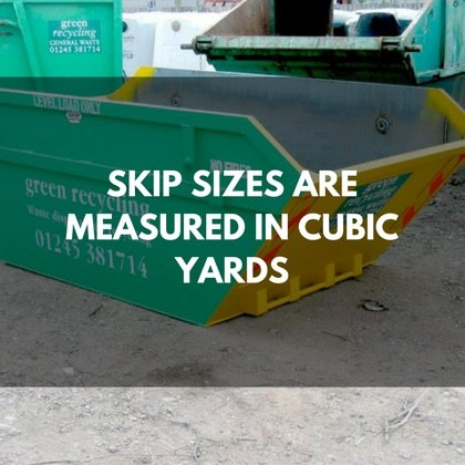 What Skip Cubic Yards Size